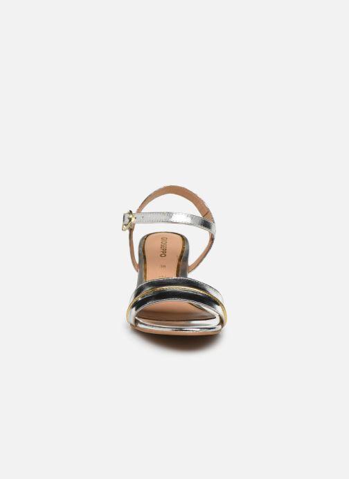 Sandales et nu-pieds Gioseppo 48308 Argent vue portées chaussures
