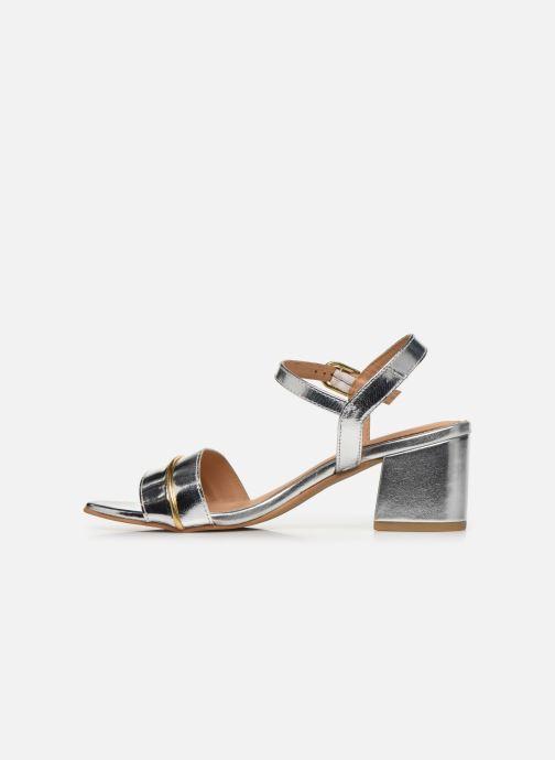 Sandales et nu-pieds Gioseppo 48308 Argent vue face