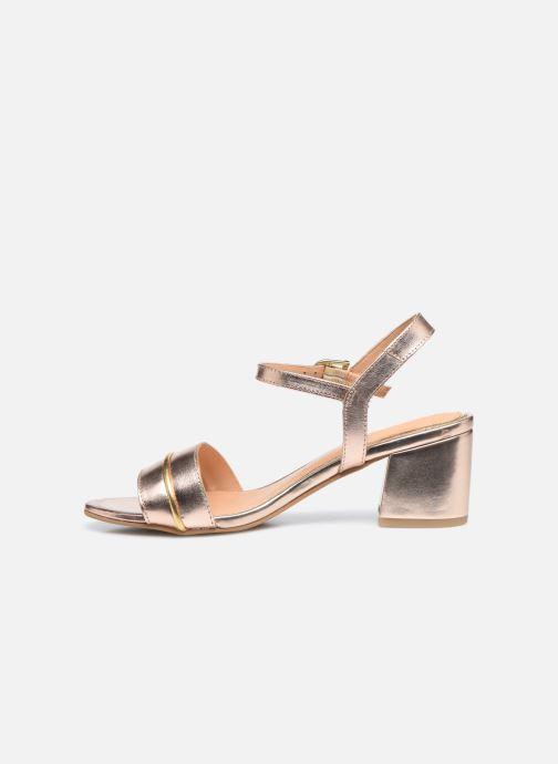 Sandalen Gioseppo 48308 gold/bronze ansicht von vorne