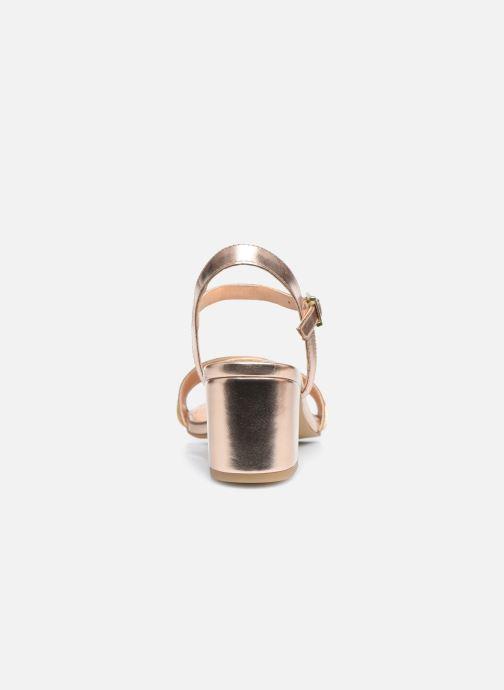 Sandalen Gioseppo 48308 gold/bronze ansicht von rechts