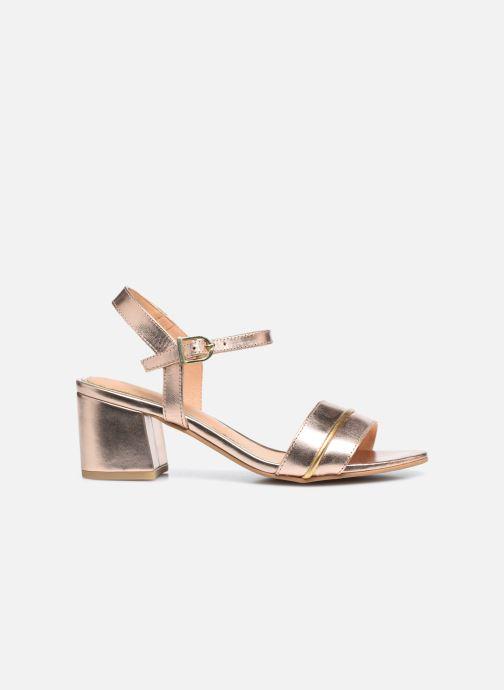 Sandalen Gioseppo 48308 gold/bronze ansicht von hinten