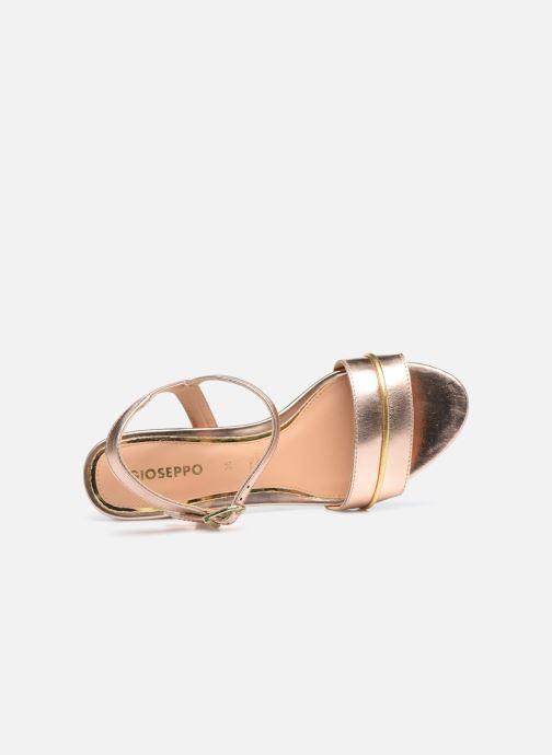 Sandalen Gioseppo 48308 gold/bronze ansicht von links