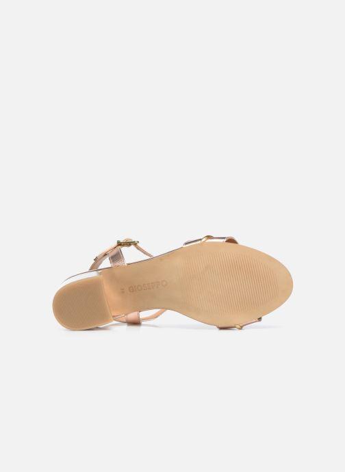 Sandalen Gioseppo 48308 gold/bronze ansicht von oben