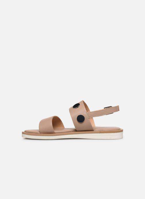 Sandales et nu-pieds Gioseppo 49039 Beige vue face