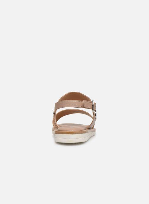 Sandales et nu-pieds Gioseppo 49039 Beige vue droite