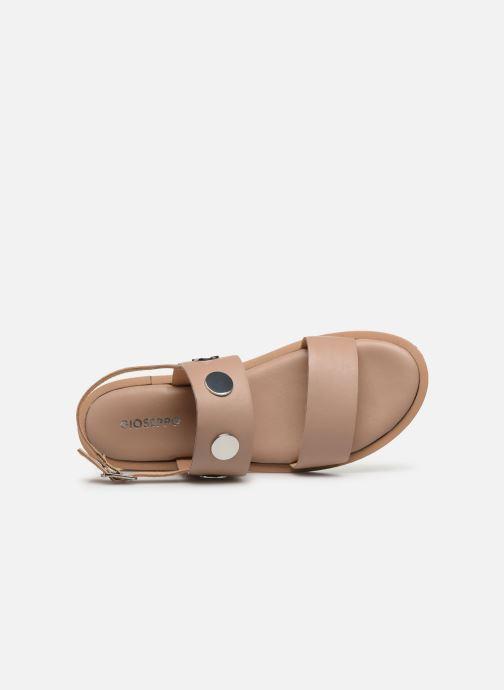 Sandales et nu-pieds Gioseppo 49039 Beige vue gauche