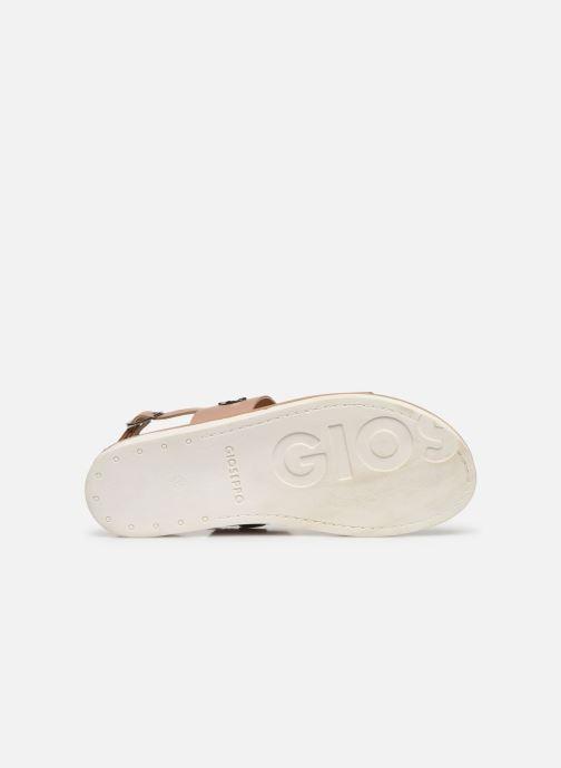 Sandales et nu-pieds Gioseppo 49039 Beige vue haut