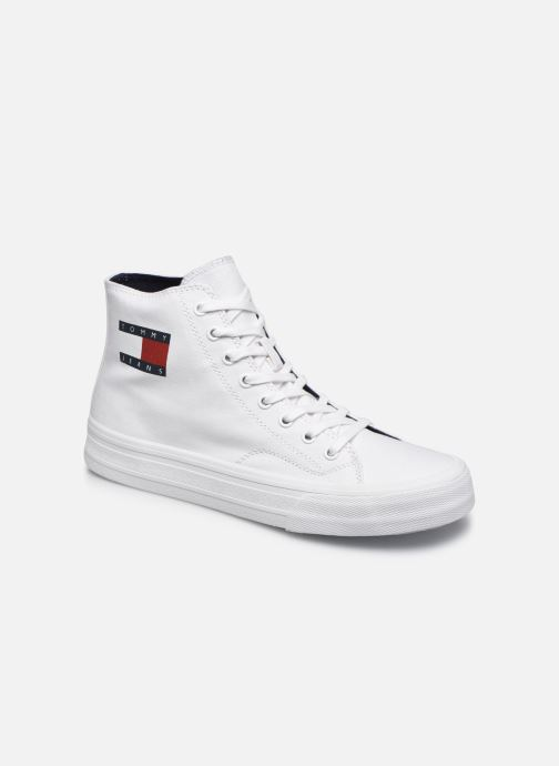 Sneakers Tommy Hilfiger MIDCUT LACE UP VULC Wit detail