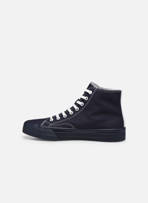 Sneaker Tommy Hilfiger MIDCUT LACE UP VULC blau ansicht von vorne