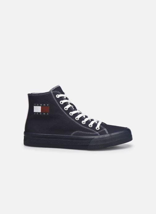 Sneaker Tommy Hilfiger MIDCUT LACE UP VULC blau ansicht von hinten