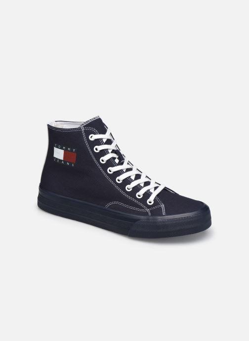 Sneaker Tommy Hilfiger MIDCUT LACE UP VULC blau detaillierte ansicht/modell