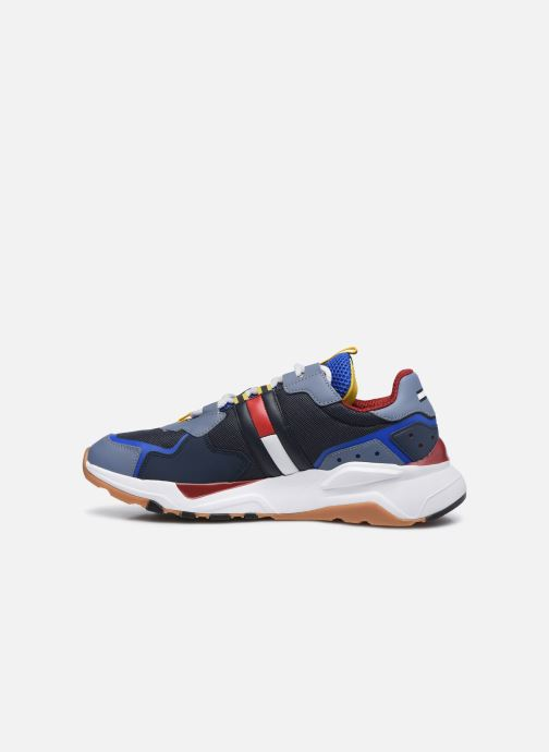 Baskets Tommy Hilfiger TOMMY JEANS COOL RUNNER Multicolore vue face