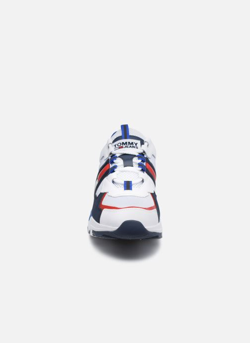 Baskets Tommy Hilfiger TOMMY JEANS COOL RUNNER Multicolore vue portées chaussures