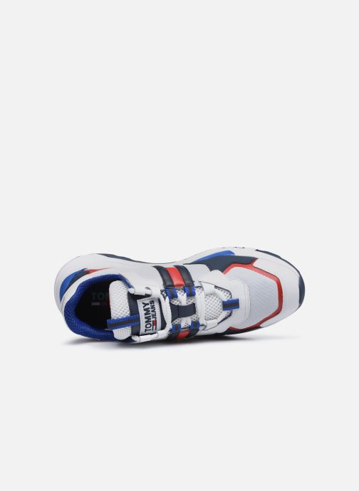 Baskets Tommy Hilfiger TOMMY JEANS COOL RUNNER Multicolore vue gauche
