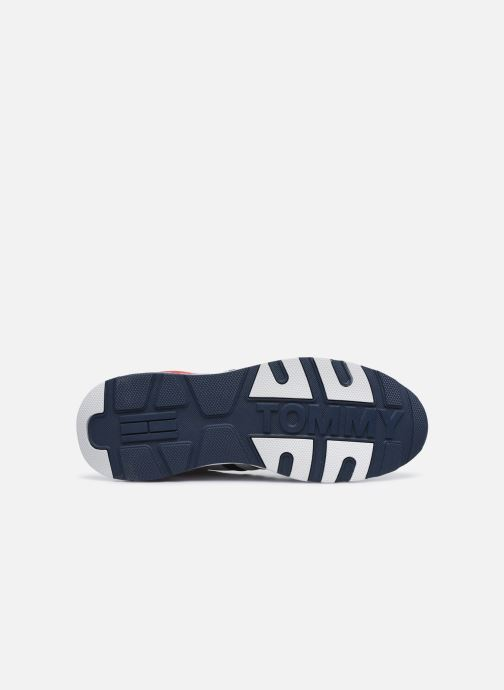 Baskets Tommy Hilfiger TOMMY JEANS COOL RUNNER Multicolore vue haut
