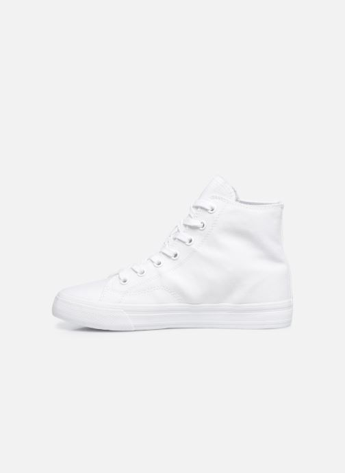 Sneakers Tommy Hilfiger WMNS MID CUT LACE UP VULC Wit voorkant