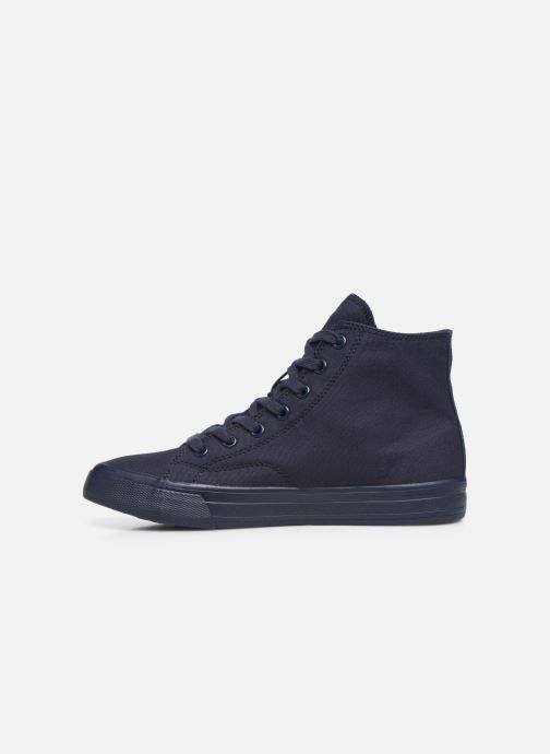 Sneakers Tommy Hilfiger WMNS MID CUT LACE UP VULC Blauw voorkant