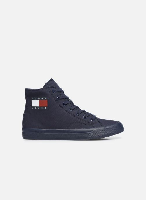 Sneakers Tommy Hilfiger WMNS MID CUT LACE UP VULC Blauw achterkant