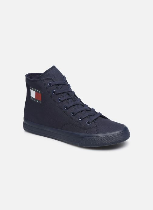 Sneakers Tommy Hilfiger WMNS MID CUT LACE UP VULC Blauw detail