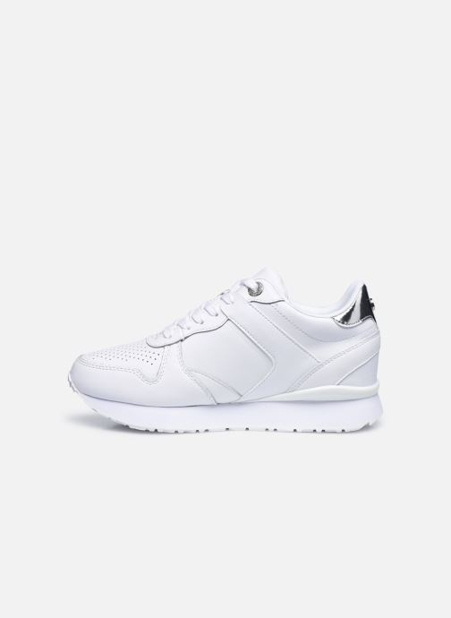 Sneakers Tommy Hilfiger DRESSY WEDGE SNEAKER Bianco immagine frontale