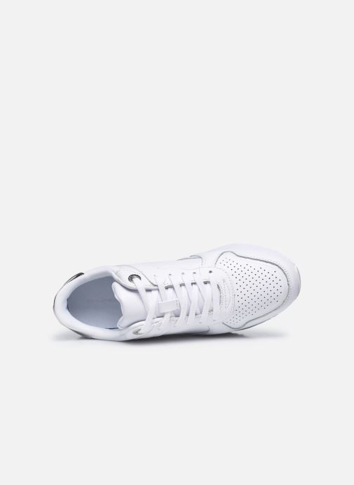 Sneakers Tommy Hilfiger DRESSY WEDGE SNEAKER Bianco immagine sinistra