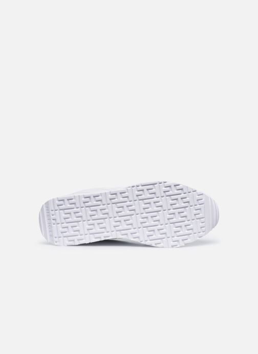 Sneakers Tommy Hilfiger DRESSY WEDGE SNEAKER Bianco immagine dall'alto