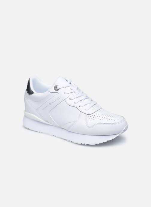 Sneakers Tommy Hilfiger DRESSY WEDGE SNEAKER Bianco vedi dettaglio/paio