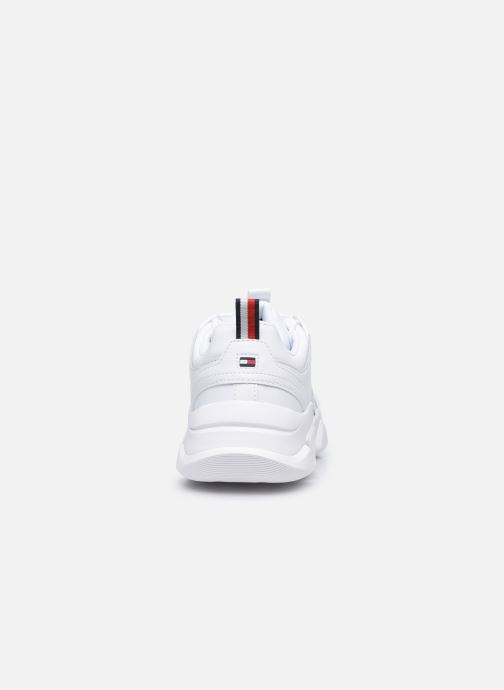 Deportivas Tommy Hilfiger CHUNKY CLASSIC TOMMY SNEAKER Blanco vista lateral derecha