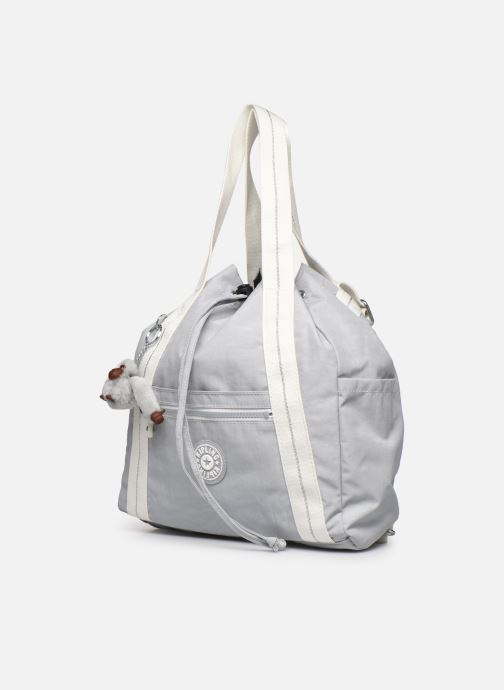 Borse kipling ART BACKPACK S Grigio modello indossato