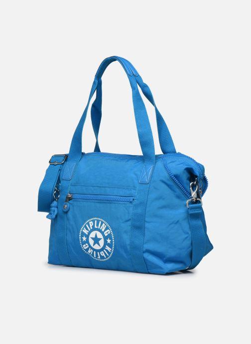 Borse Kipling ART NC Azzurro modello indossato
