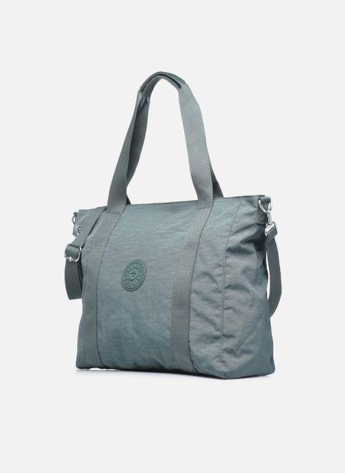 Handtaschen Kipling Asseni blau schuhe getragen