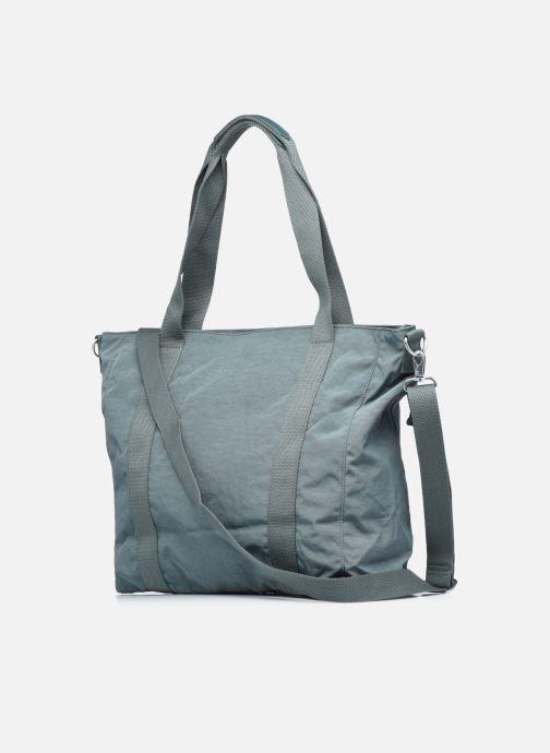 Handtaschen Kipling Asseni blau ansicht von rechts