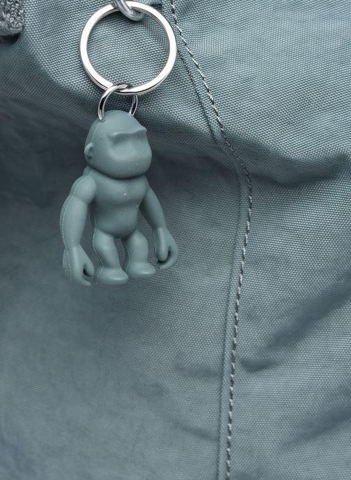 Handtaschen Kipling Asseni blau ansicht von links