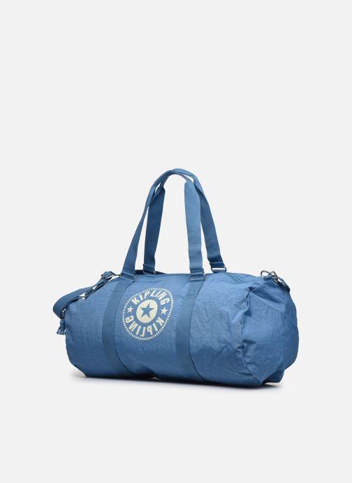 Bolsas de deporte Kipling ONALO L Azul vista del modelo