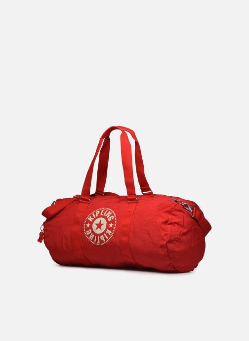 Sporttaschen Kipling ONALO L rot schuhe getragen