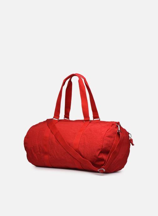 Sporttaschen Kipling ONALO L rot ansicht von rechts