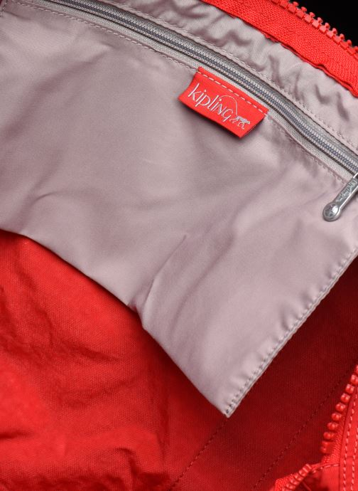 Sporttaschen Kipling ONALO L rot ansicht von hinten