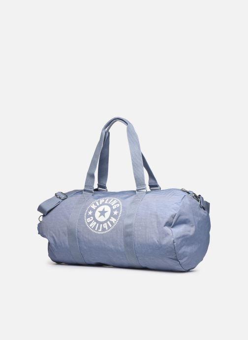 Sporttaschen Kipling ONALO L blau schuhe getragen
