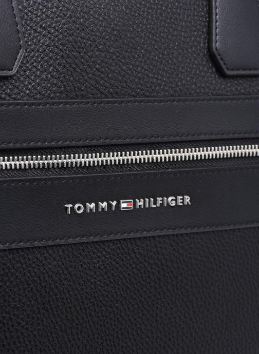 Sacs ordinateur Tommy Hilfiger TH MODERN WORK BAG Noir vue gauche
