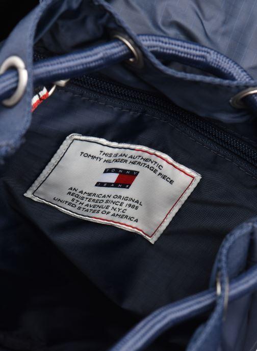 Rucksäcke Tommy Hilfiger TJW HERITAGE SM FLAP BACKPACK blau ansicht von hinten