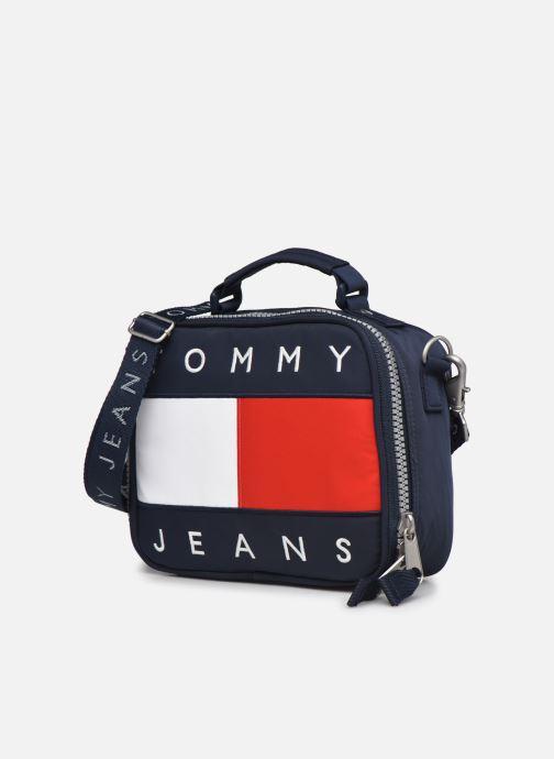 Bolsos de mano Tommy Hilfiger TJW HERITAGE CROSSOVER Azul vista del modelo