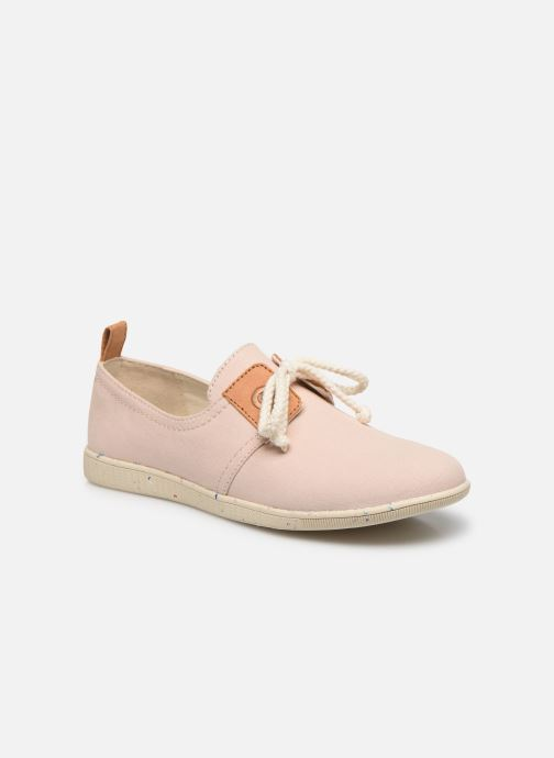 Baskets Armistice Stone One Organic Canvas Rose vue détail/paire