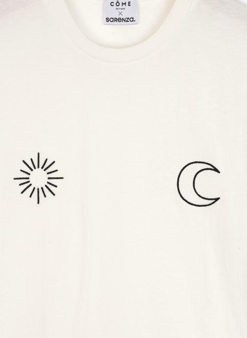 Vêtements Made by SARENZA Sarenza x Côme Editions Tee-Shirt Blanc vue droite