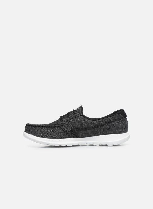 Chaussures à lacets Skechers GO WALK LITE/COAST Gris vue face