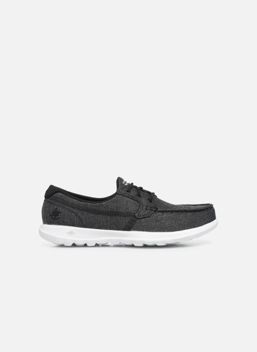 Chaussures à lacets Skechers GO WALK LITE/COAST Gris vue derrière
