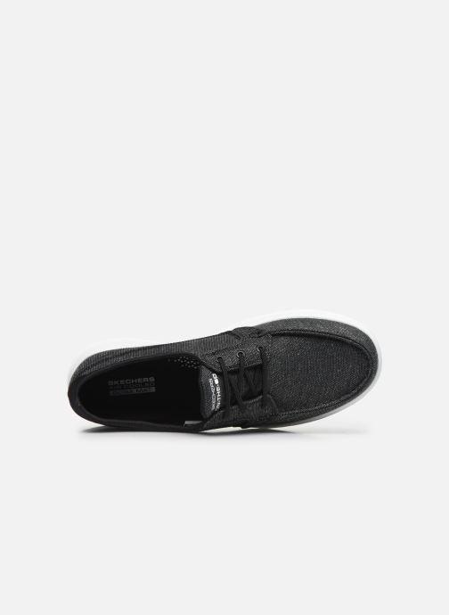 Chaussures à lacets Skechers GO WALK LITE/COAST Gris vue gauche