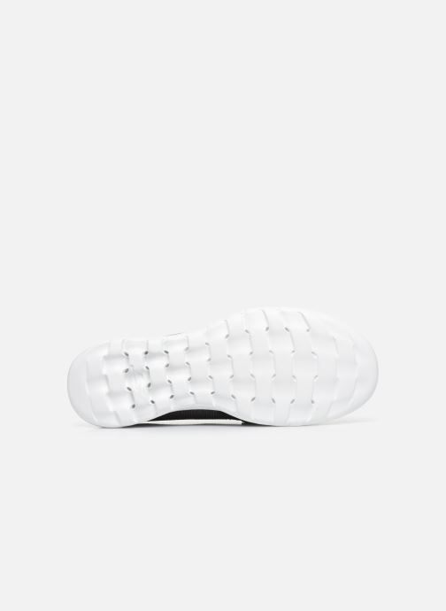 Chaussures à lacets Skechers GO WALK LITE/COAST Gris vue haut