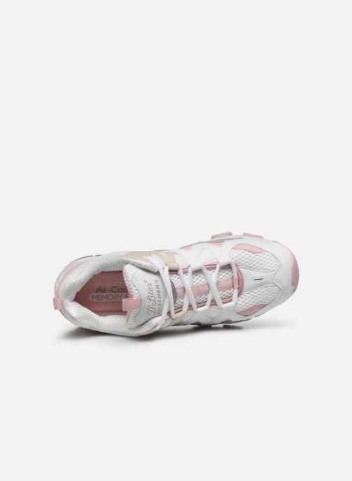 Chaussures de sport Skechers D'LITES 2/TOP DOWN Rose vue gauche