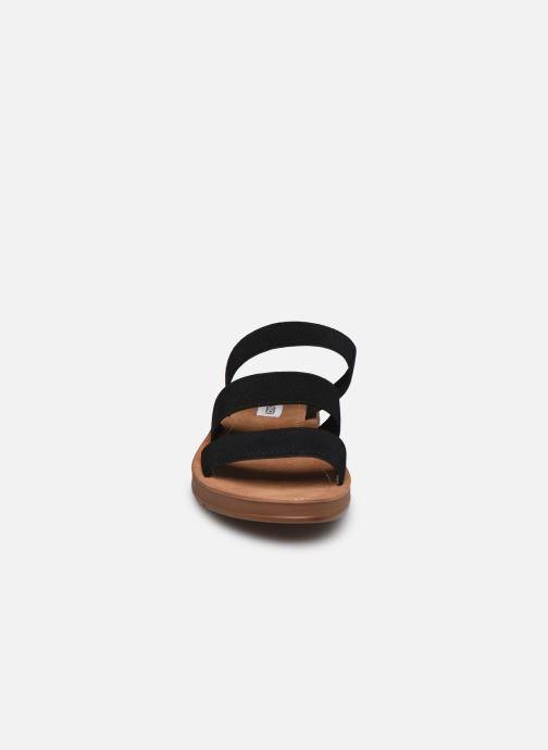 Mules et sabots Steve Madden PASCALE Noir vue portées chaussures
