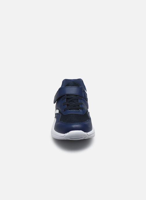 Baskets I Love Shoes THONGE Bleu vue portées chaussures